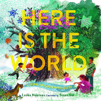 Here Is the World : A year of Jewish Holidays , Leslea Newman