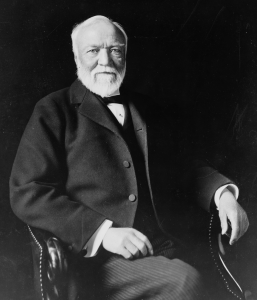 [Portrait of Andrew Carnegie]