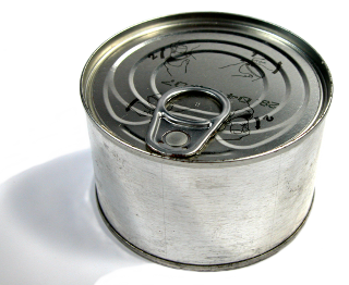 [stock photo of a food can]