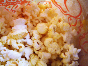 [stock photo of movie popcorn]