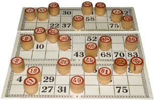 [stock photo of a bingo game]