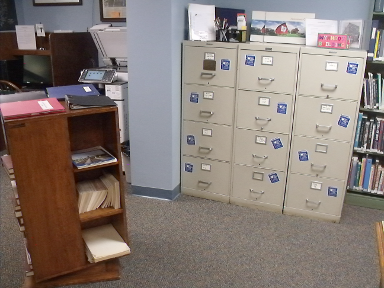 [photo: filing cabinets]
